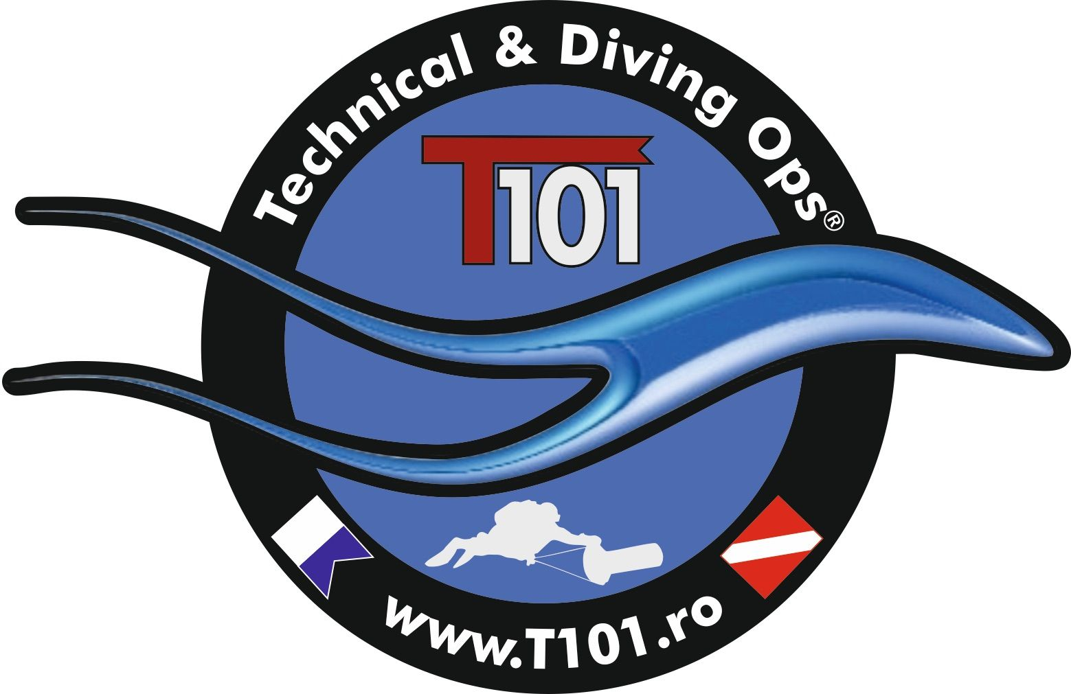T101-Technical & Diving Ops® logo