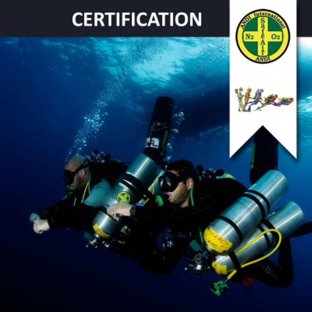 Open Water Diver 18m / Dry Suit Diver